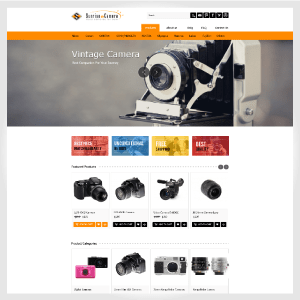 Sunset-Camera.com – Japanes Ecommerce Websites for Used Camera Supplier