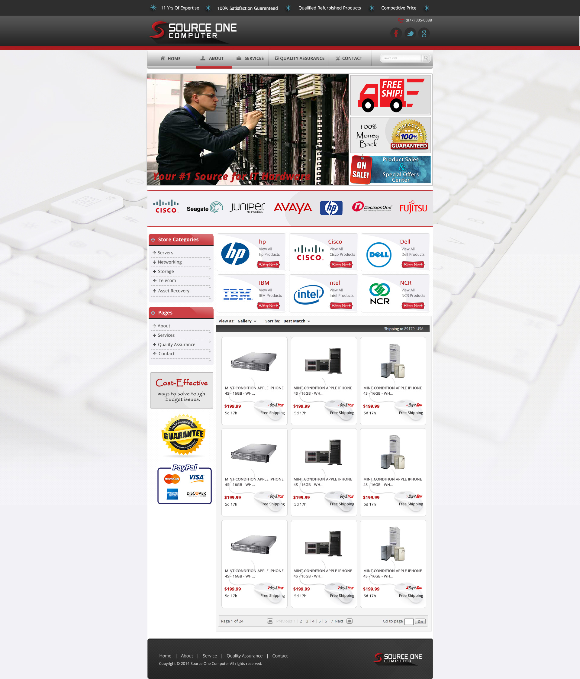 Custom ebay store template for s1 computers custom ebay store template for index1 pronofoot35fo Image collections