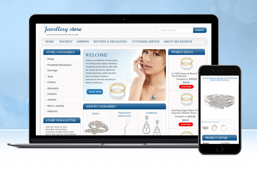 eBay Store and Product Listing Template for Top Rated Jewelry Seller-min