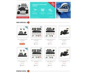 EagleEyeCCTV – Revamping Branding & Presence on eBay through 100% Custom Template Design