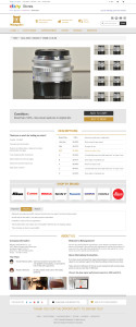 eBay Storefront & Listing Template for Top Rated Seller