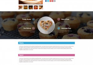 Custom eBay Store & Template Design for TheHappyBakeShop