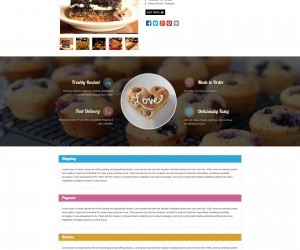 Custom eBay Store & Template Design for TheHappyBakeShop
