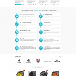 COOLWATCH31.COM – Redesigning Magento Website for better User Experience and Engagement