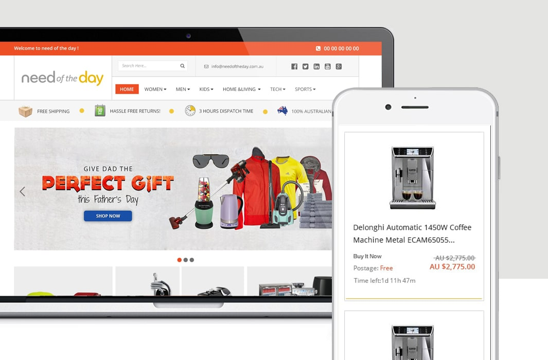 Needoftheday – Redesigning eBay Storefront and Product Template for Better Branding and Sales-min
