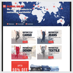 Hbriderwear.co.uk – Custom Magento Website Integrated with Amazon FBA & Marketplaces