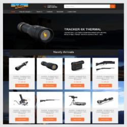 Safarifirearms.com.au – A Custom Codisto Listing Template & eBay Storefront Design Australia