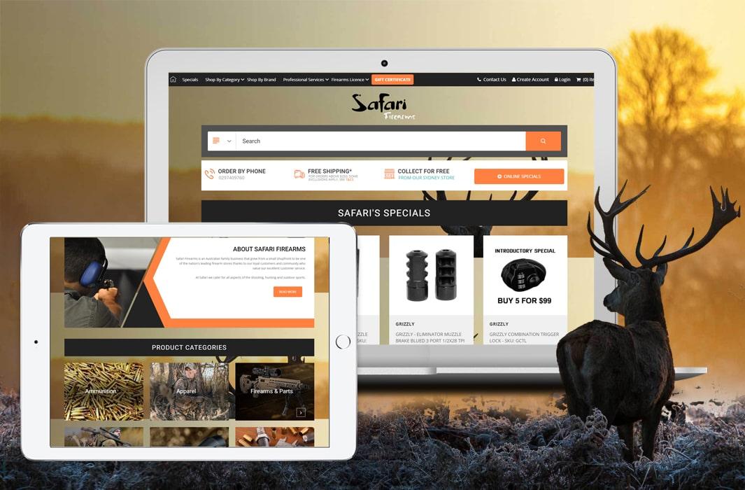 Safarifirearm – A Custom Codisto Listing Template & eBay Storefront Design Australia-min