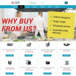 Custom eBay Shop & M2E PRO Integration for Catering Equipment Supplier