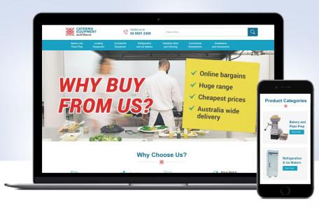Custom eBay Shop & M2E PRO Integration for Catering Equipment Supplier
