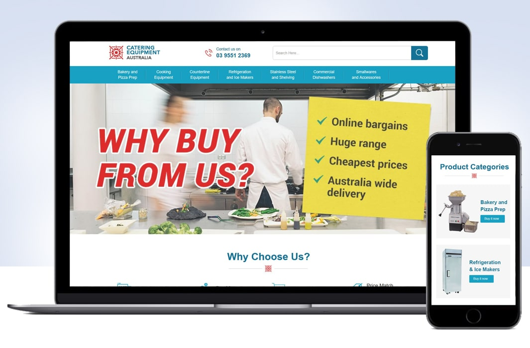 Custom eBay Shop & M2E PRO Integration for Catering Equipment Supplier-min