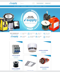 ISupply Electrical – Custom WP Listing template and eBay integration
