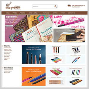 A Complete Multi-channel Setup for Australia's Leading Online Stationary Store