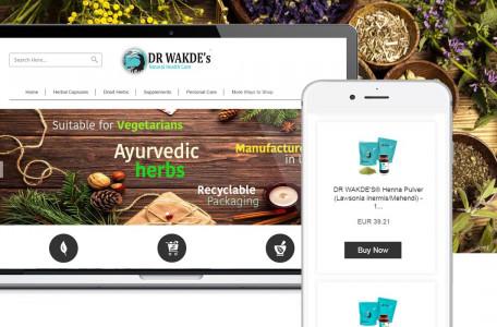 Re-Branding of Dr Wadke's Natural Health Care eBay Store