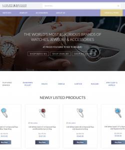 Luxury Bazaar – Complex eBay Store Template Customization