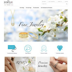 TheJewelz.com – WooCommerce to eBay Integration and Custom Store Design