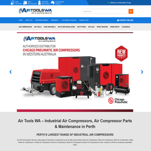 Airtoolswa.com.au   – WooCommerce to eBay Integration and a Complete Makeover of eBay Templates