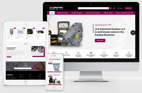 JLS Industrial – Magento 1 to Magento 2 Migration & Complete Website Redesign from Scratch